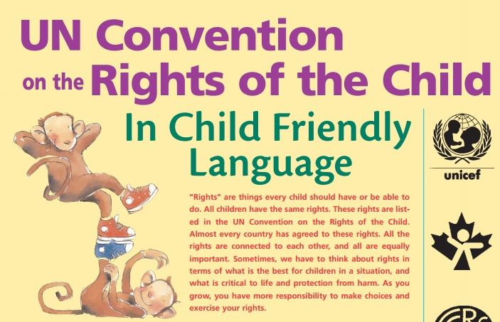 Convention on the rights of the child essay donald