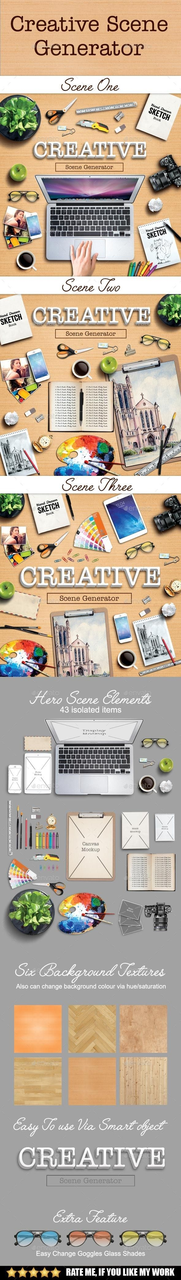 Creative scene generator #design Download: http://graphicriver.net/item/creative-scene-generator/11856223?ref=ksioks