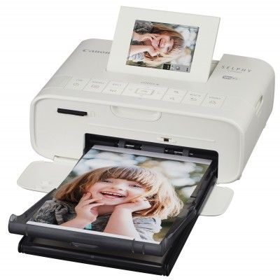 Canon SELPHY CP1200 - Impresora fotográfica (inyección de tinta, WiFi, USB 2.0, PictBridge), blanco