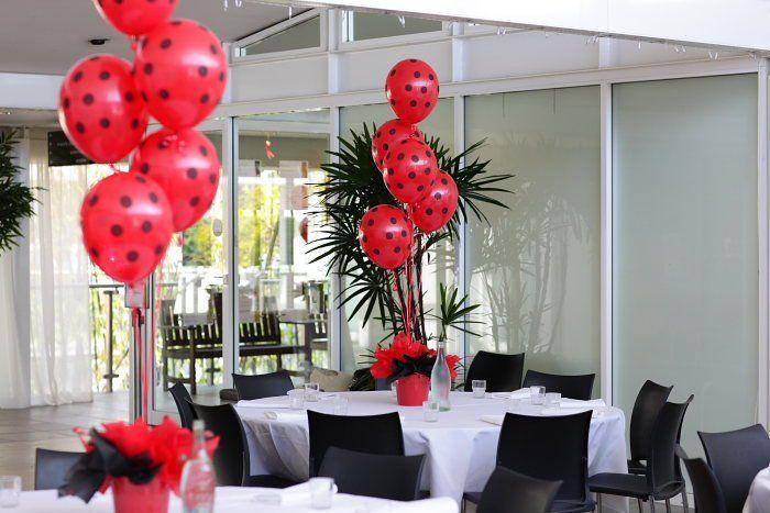 ladybug party ideas | Ladybug Baby Shower Table Ideas Photograph | Ladybug Party T