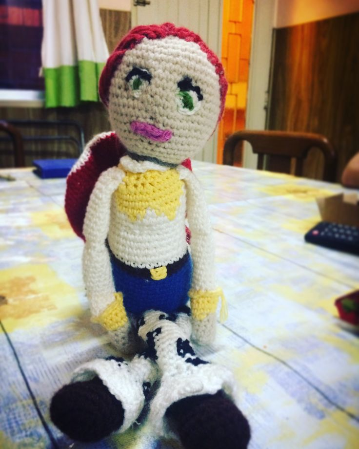 Jessie Toy Story amigurumi (by me)