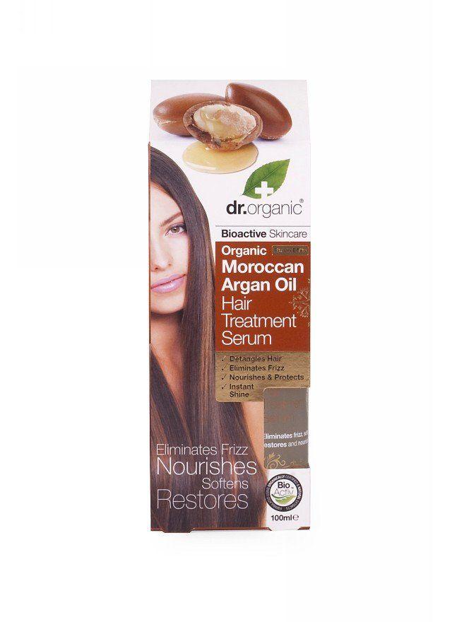 Buy Dr.Organic Moroccan Argan Oil Hair Treatment Serum 100ml Online | Organica