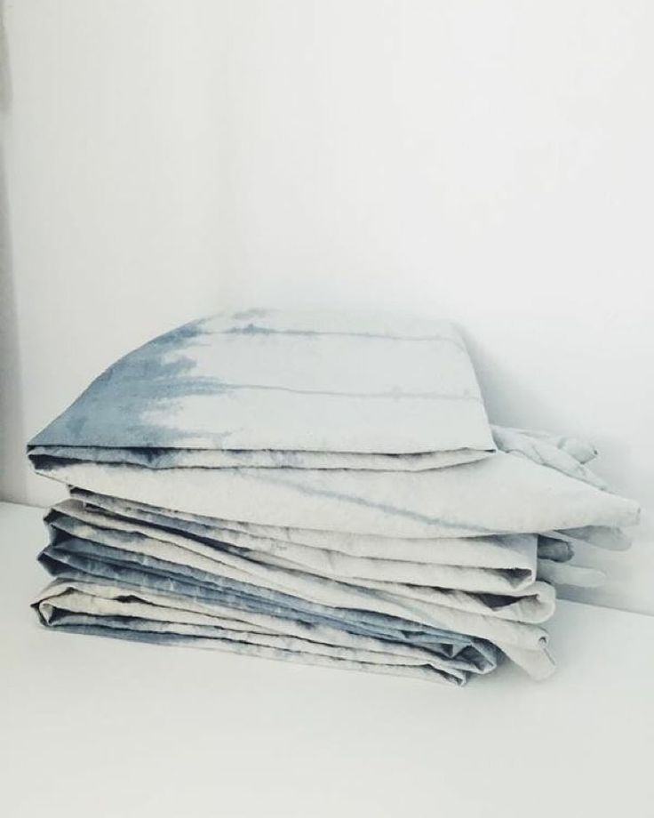 """""""Still trying to decide what to do with some of our shibori dyed fabric. Anything you guys would like to see? This lot is a lovely pale colour, with an…"""""""