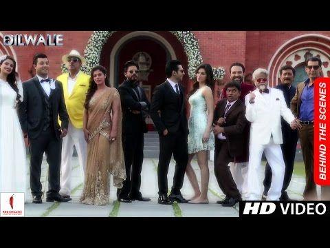 Dilwale sneak peek kajol shah rukh khan kriti sanon varun dhawan a rohit shetty film