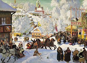 Commons:Picture of the day - Wikimedia Commons Boris Kustodiyev. Maslenitsa. 1919. Oil on canvas, Isaak Brodsky Museum, St. Petersburg.