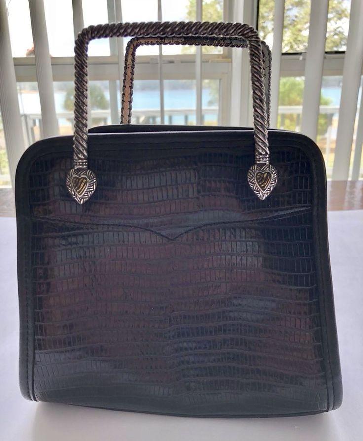 Brighton purse, Small Brighton Purse, Black Leather Brighton Purse, Brighton  | eBay