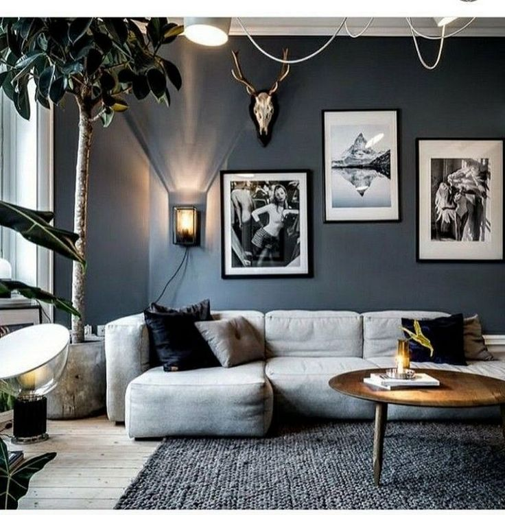 Cool Living Room Decorating Ideas: 23+ Cool Black And White Wall Gallery Decorating Ideas For