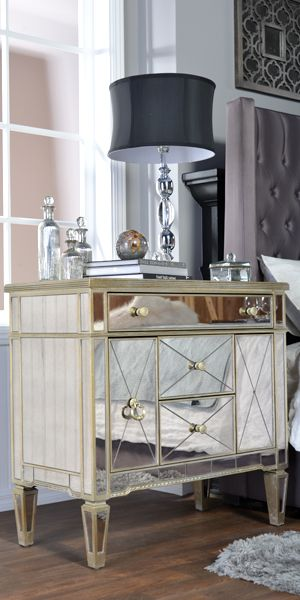 opulent ideas modern side tables. Distressed antique glass dresser and side tables  Echoing the opulence of Art Deco style this is finely crafted with antiqued mirror panels 34 best Dressers Nightstands Chests images on Pinterest