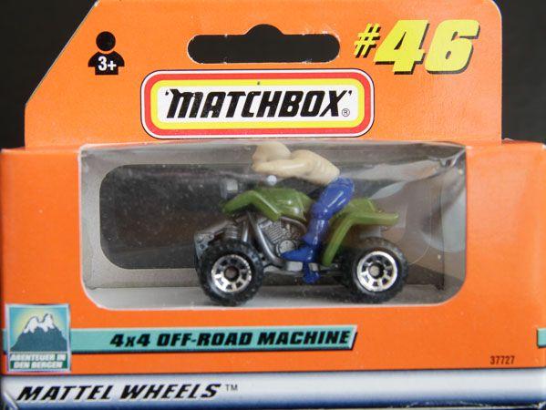 Model Matchbox 4x4 Off-Road Machine