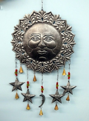 New Metal Wall Art New Wall Decor   Sun, Moon And Stars