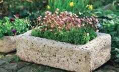 Pflanzgefäße aus Beton selber machen -  Aus Hypertufa – einem torfhaltigen Beton – lassen sich schon für wenig Geld dekorative Pflanztröge und -kübel herstellen, die den wesentlich teureren Originalen aus Sandstein zum Verwechseln ähnlich sehen. Mit dieser Bauanleitung können Sie das ganz leicht selber machen.