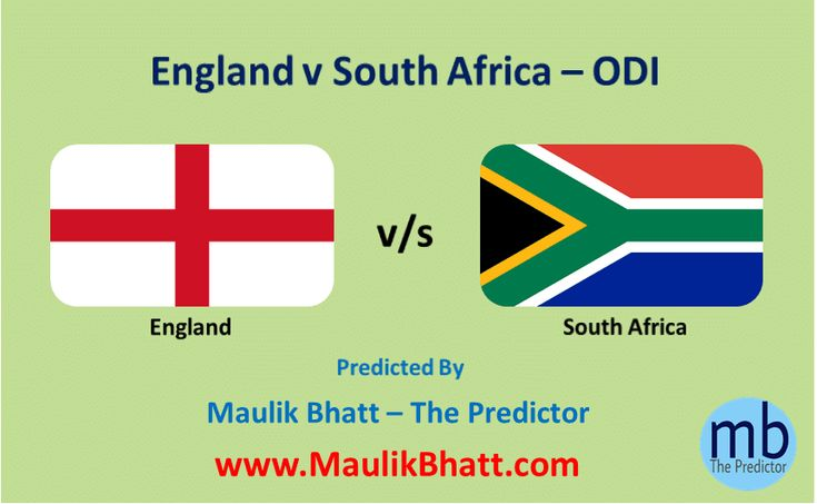 Cricket Predictions, 2nd ODI - England v South Africa. Betting Tips from Maulik Bhatt - The Predictor. Providing most accurate sports prediction like Cricket and Football since 2003.