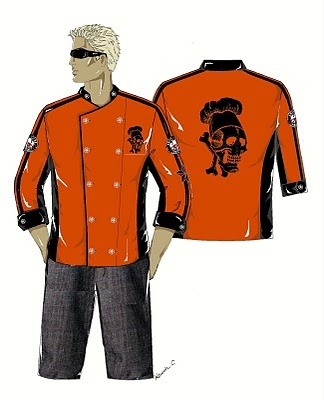 Guy Fieri designer chefs jackets - Guy Fieri - Zimbio: Chef Jackets, Design Chef