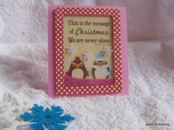 Shaker card created by Judith Armstrong using Jillibean Soup