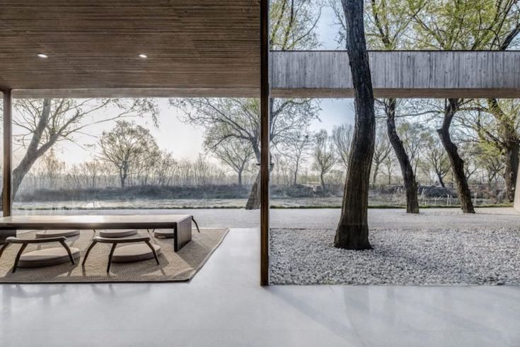 Green-roofed Buddhist shrine is partially buried to minimize site disruption and blend in with the landscape in China   Inhabitat - Green Design, Innovation, Architecture, Green Building