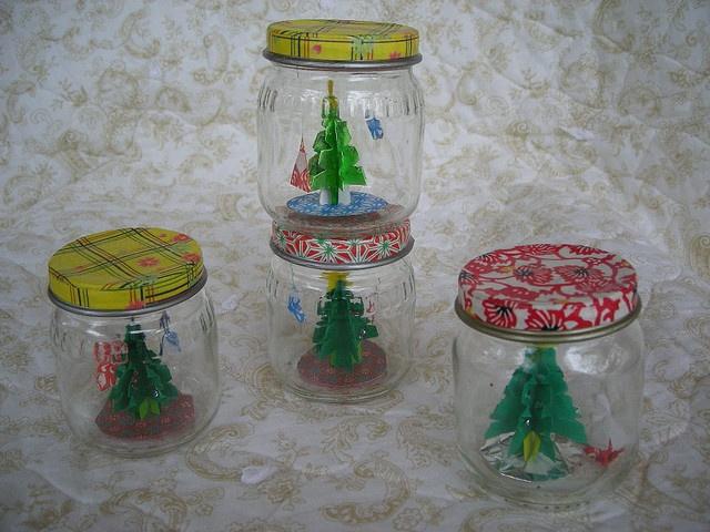 Christmas In A Baby Food Jar
