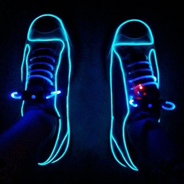 Neon Shoe Lights