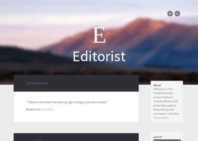 Editorist   Tumblr