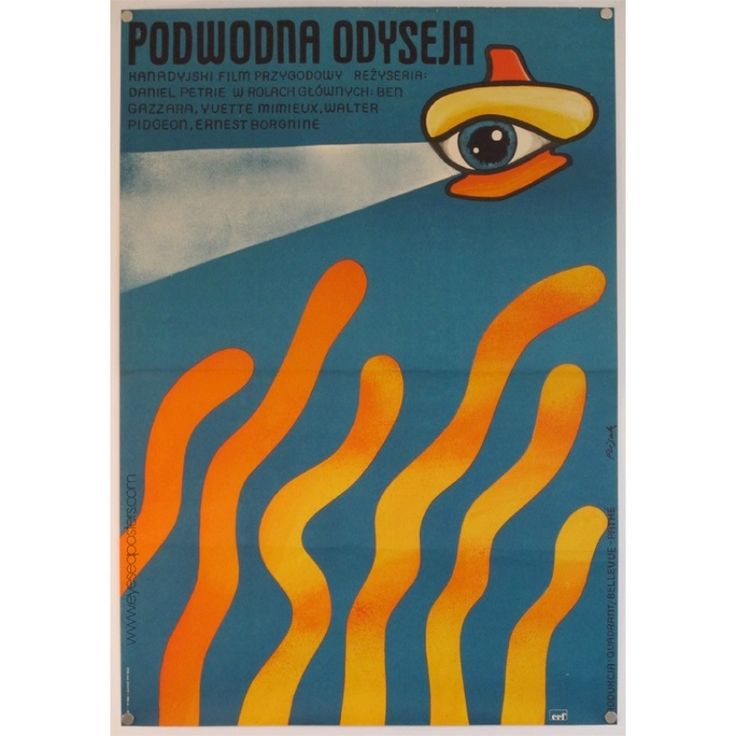 ORIGINAL VINTAGE FILM POSTERS - EYE SEA POSTERS