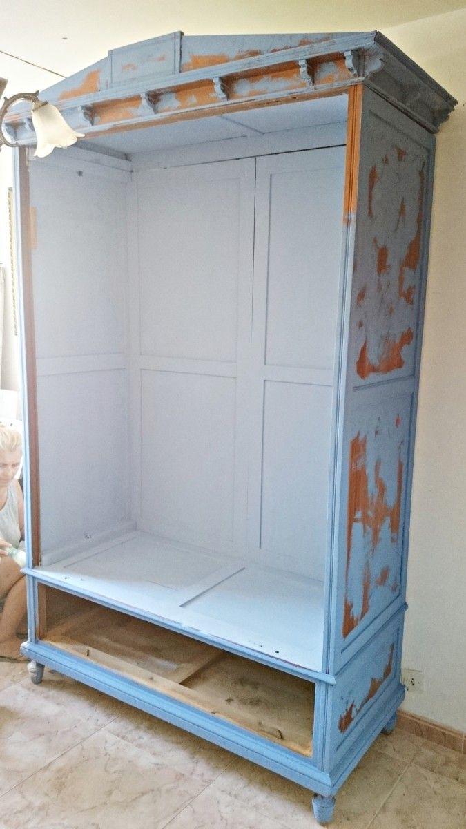Cómo actualizar un armario antiguo   Bohemian and Chic