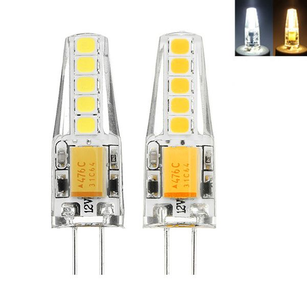 Wholesale Price Free Shipping G4 Led Bulbs G4 2w 2835 Dimmable 10 Leds Warm White White Led Decorative Light Bulbs Led Decorative Lights Light Decorations