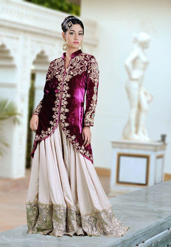 Best 25 indian bridal wear ideas on pinterest for Indian wedding dresses uk