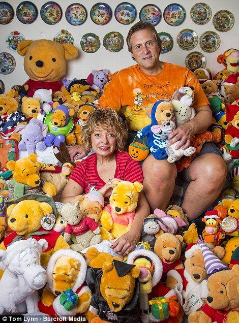 Η Ντεμπ Χόφμαν, από το Ουισκόνσιν, δεν σκέφτηκε τα έξοδα και δαπάνησε 100.000 δολάρια για να συμπληρώσει την τεράστια συλλογή της με λούτρινα