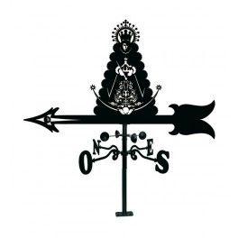 Veleta Virgen del Rocío con cazoletas giratorias.
