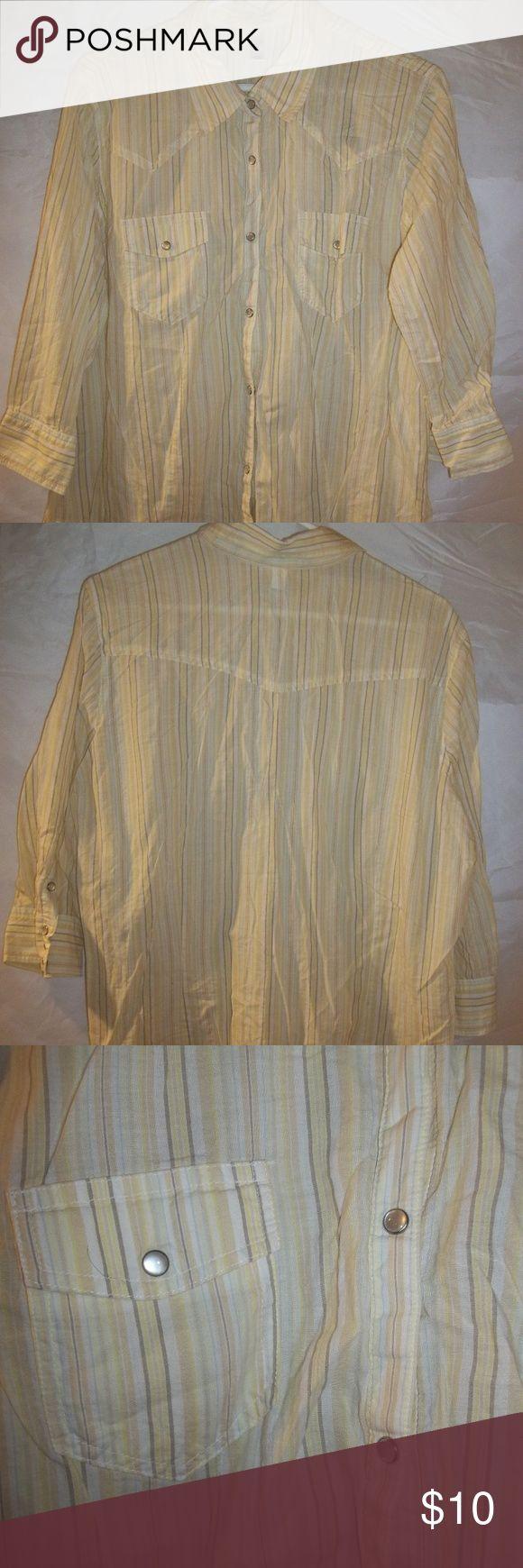 I just added this listing on Poshmark: Old Navy Western Pearl Snap Shirt Plus Size XXL  #shopmycloset #poshmark #fashion #shopping #style #forsale #OldNavy #Tops #western #blouse #shirt #pearlsnap #striped #womens #clothing #clothes #apparel #poshmarkapp #poshmarkcloset