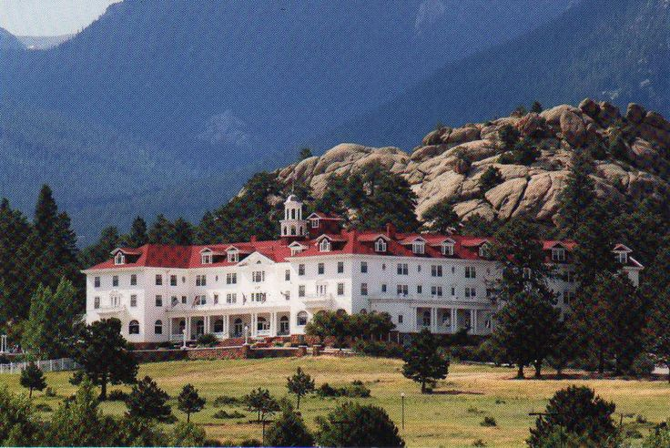 The Stanley Hotel, Estes Park, Colorado.  From: http://www.spirits-speak.com/investigations_stanleyhotel.html