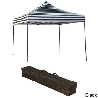 Trademark Innovations Lightweight and Portable 10x10 Canopy Tent Set - Free Shipping Today - Overstock.com - 18441103 - Mobile