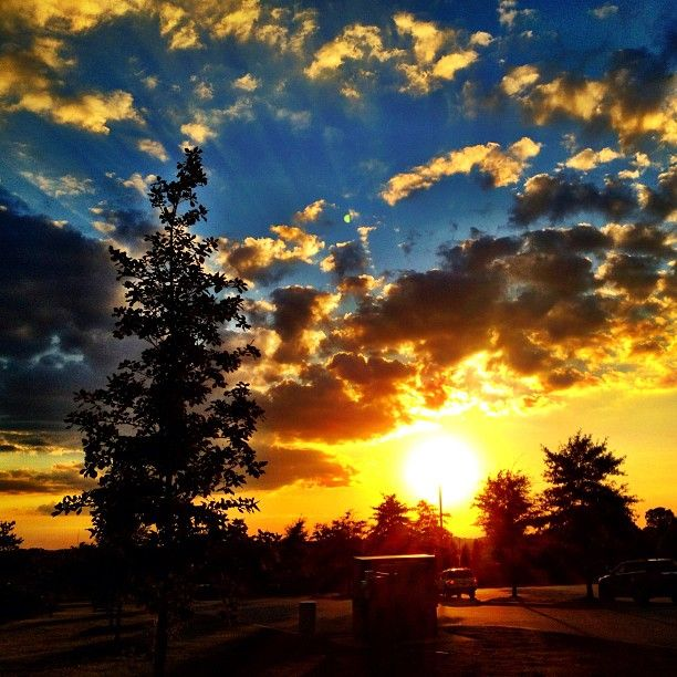 Sunset in Columbia, SC | Things for My Wall | Pinterest ...