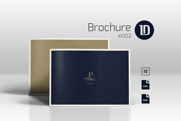 Multipurpose Luxury Brochure 002 by ID Vision Studio on @creativemarket