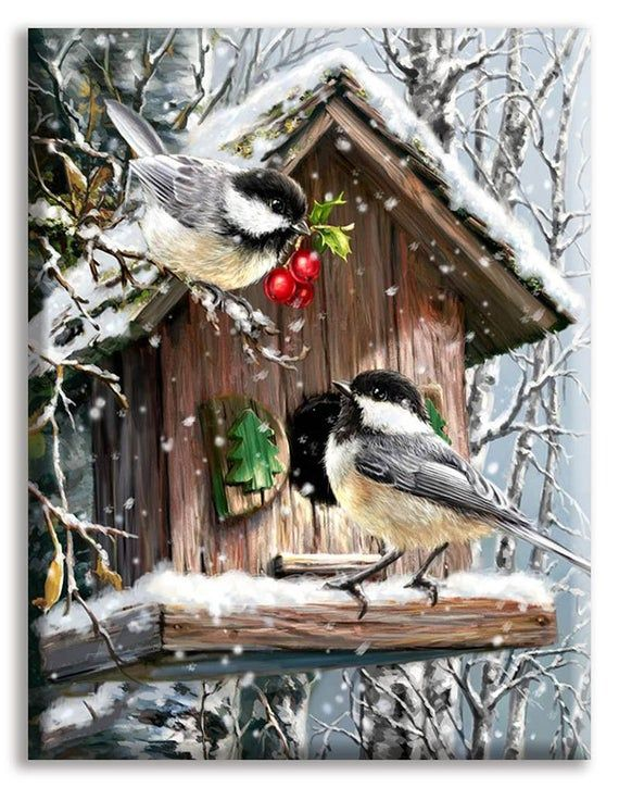 Fast delivery 5D Diy Diamond Painting Cross Stitch Christmas