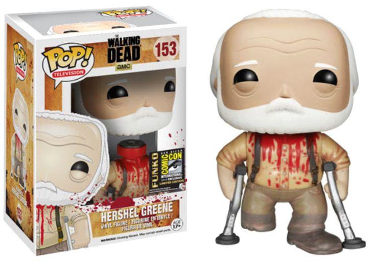 The Walking Dead POP! Vinyl Figur Hershel Greene SDCC Exclusive 10 cm The Walking Dead POP Figuren - Hadesflamme - Merchandise - Onlineshop für alles was das (Fan) Herz begehrt!