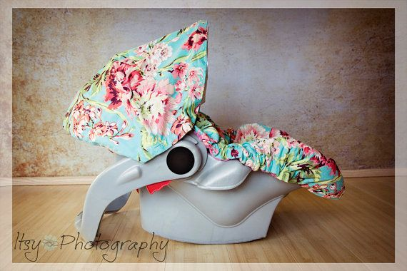 ChubbyBaby Infant Car Seat cover in Summer Love