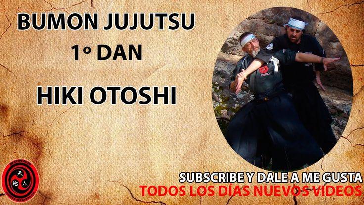 1 dan cinturón negro jujutsu kata: Hiki Otoshi | ninpo | taijutsu | Bumon