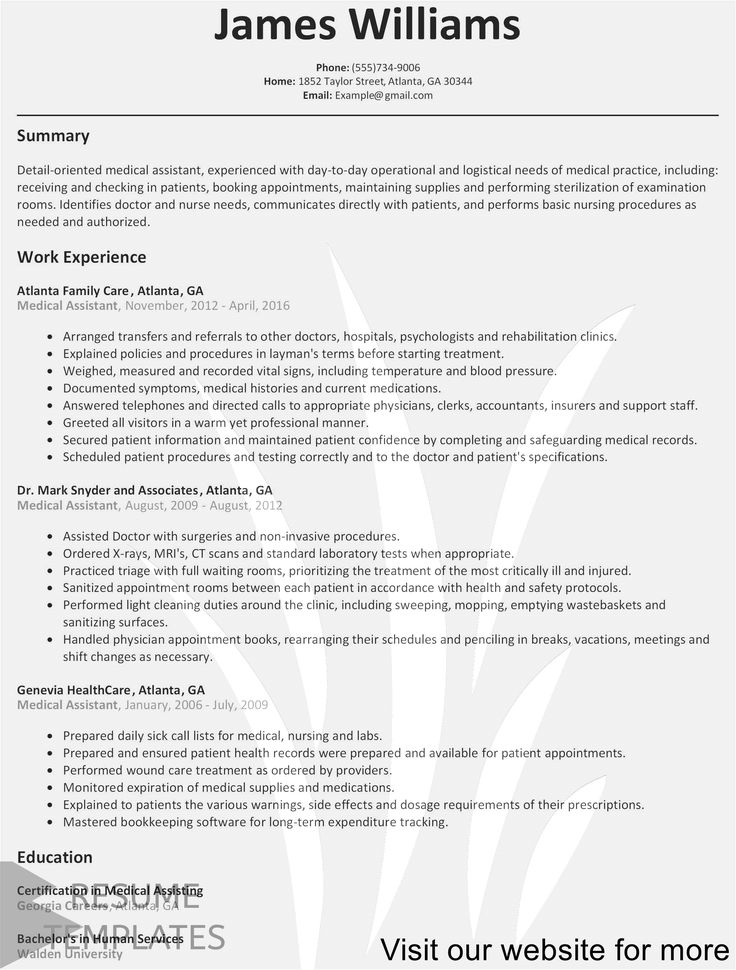 resume template accounting Professional in 2020 Job