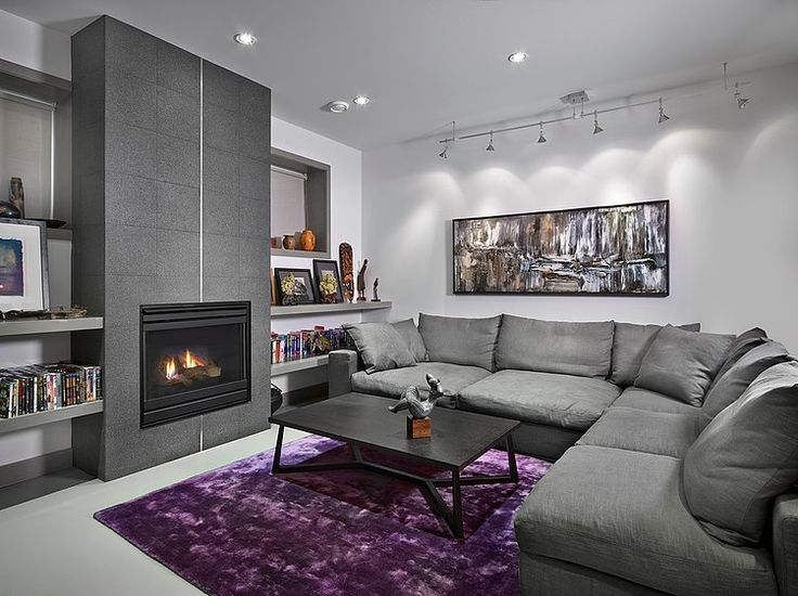 17 best images about gray purple on pinterest the purple Grey and purple living room