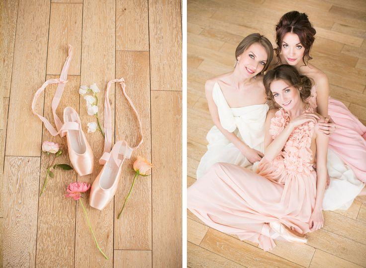 Ballet Inspired Wedding Ideas |  russian ballerinas | балерины | балет | свадьба | девишник http://svetamart.ru/wedding/gallery/wedding-look/