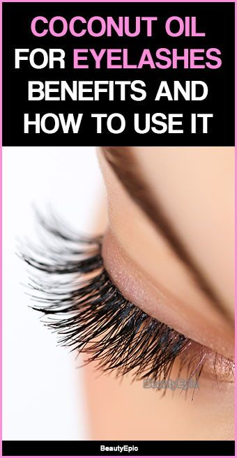 724a5196575 Coconut Oil for Eyelashes - Benefits and How to Use It?   Article ...