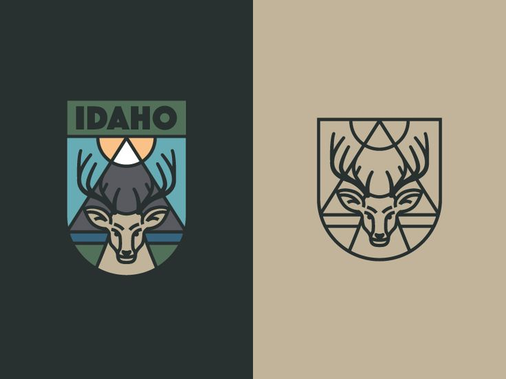 Idaho Badge by Alex Rinker