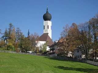 Kirche Klobenstein in Südtirol