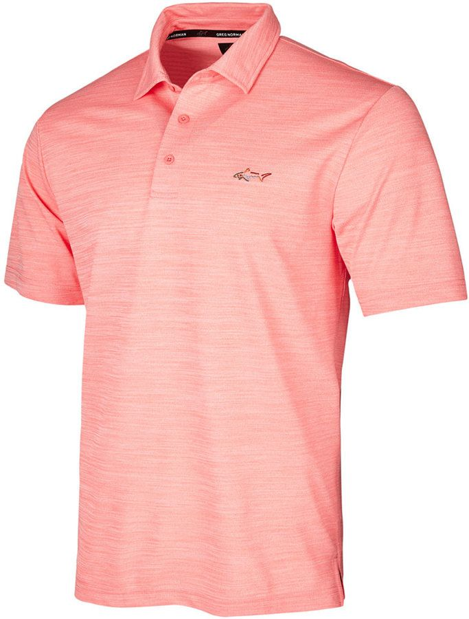 d294fd9b Greg Norman For Tasso Elba Men's 5 Iron Space-Dye Performance Golf Polo,  Created for Macy's