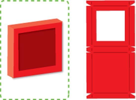 Sizzix Shaker Box, Square w/Window