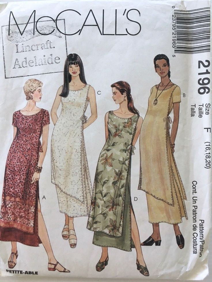 227 besten sewing patterns McCalls Bilder auf Pinterest