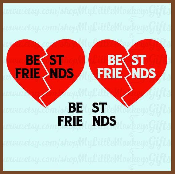 best friend heart - photo #23