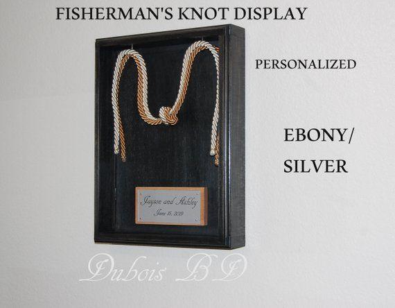 Fisherman S Knot Display Fisherman S Knot Wedding Ceremony Knot Wedding Ceremony Two Cords Wedding 3 8 Cords Fishermans Knot Knots Cord Of Three Strands