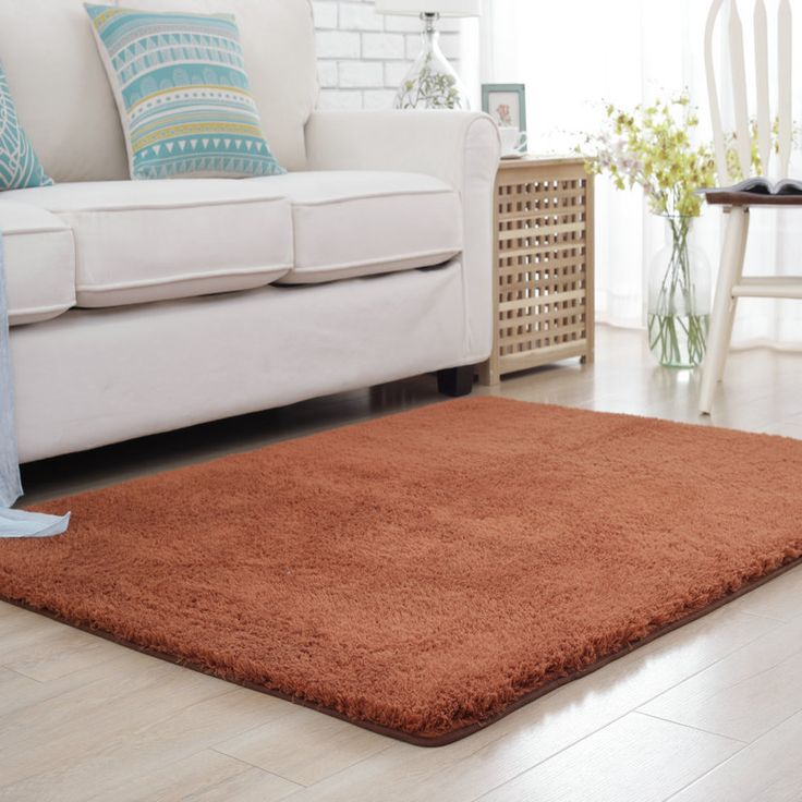Cheap soft carpet, Buy Quality rugs and carpets directly from China carpets for living room Suppliers: Solid Plush Soft Carpets For Living Room Warm Home Bedroom Rugs And Carpets Coffee Table Area Rug Children Room Play Floor Mat