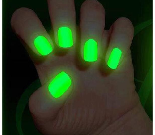 EASY D.I.Y Glow In The Dark Nail Polish @Luuux